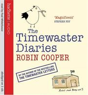 Cover of: The Timewaster Diaries | Robin Cooper