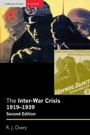 The Inter-War Crisis 1919-1939
