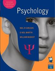 Cover of: Psychology And Mypsychlab Course Compass Access Card