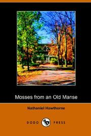 Cover of: Mosses on the Old Manse