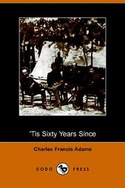 Cover of: Tis Sixty Years Since