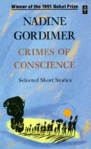 Cover of: Crimes of Conscience (African Writers Series) | Nadine Gordimer