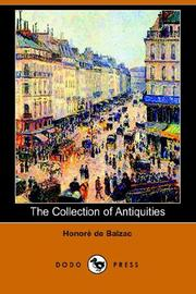Cover of: The Collection of Antiquities | HonorГ© de Balzac