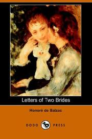 Cover of: Letters of Two Brides