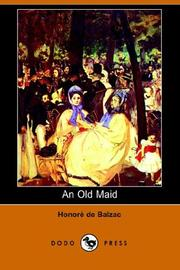 Cover of: An Old Maid