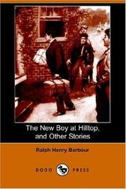 Cover of: The New Boy at Hilltop and Other Stories
