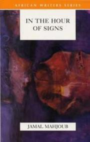 Cover of: In the Hour of Signs