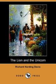 Cover of: The Lion and the Unicorn