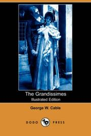 Cover of: The Grandissimes