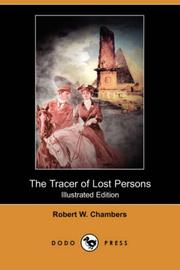 Cover of: The Tracer of Lost Persons