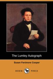 Cover of: The Lumley Autograph