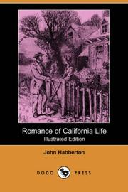 Cover of: Romance of California Life