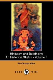Cover of: Hinduism and Buddhism
