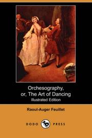 Cover of: Orchesography, or, The Art of Dancing