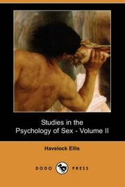 Cover of: Studies in the Psychology of Sex - Volume II