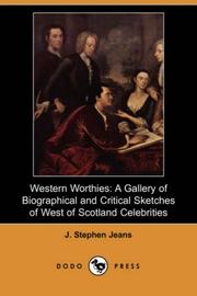 Cover of: Western Worthies