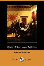 Cover of: State of the Union Address
