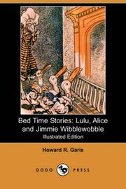 Cover of: Bed Time Stories | Howard Roger Garis