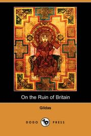 Cover of: On the Ruin of Britain