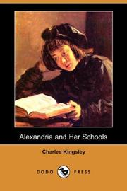 Cover of: Alexandria and Her Schools