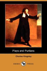 Cover of: Plays and Puritans: and other historical essays