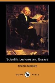 Cover of: Scientific lectures and essays