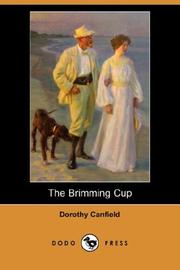 Cover of: The Brimming Cup