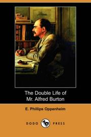 Cover of: The Double Life of Mr. Alfred Burton