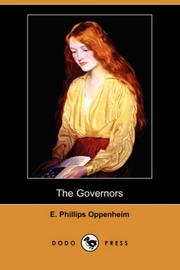 Cover of: The Governors (Dodo Press) | E. Phillips Oppenheim