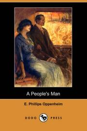 Cover of: A People's Man