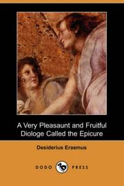 Cover of: A Very Pleasaunt & Fruitful Diologe Called the Epicure