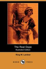 Cover of: The Real Dope