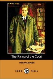 Cover of: The Rising of the Court