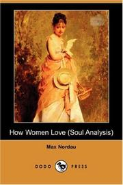 Cover of: How Women Love