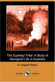Cover of: The Euahlayi Tribe