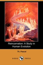 Cover of: Reincarnation | Th. Pascal