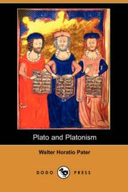 Cover of: Plato and Platonism