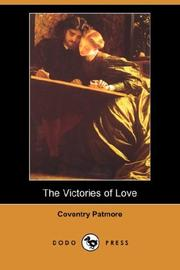 Cover of: The Victories of Love