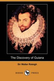 Cover of: The Discovery of Guiana