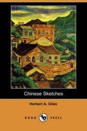 Cover of: Chinese Sketches