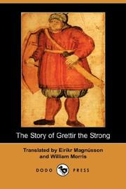 Cover of: The Story of Grettir the Strong (Dodo Press) |