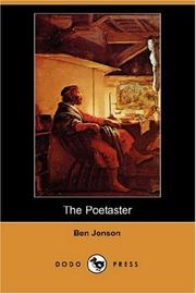 Cover of: The Poetaster
