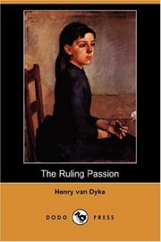 Cover of: The Ruling Passion