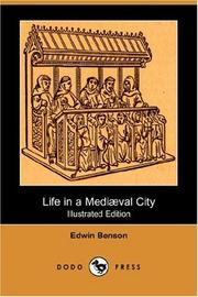 Cover of: Life in a mediaeval city