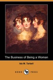 Cover of: The business of being a woman