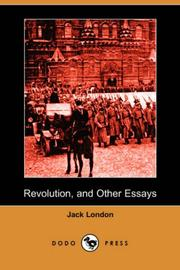 Cover of: Revolution and Other Essays