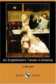 Cover of: An Englishman's travels in America