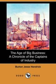 Cover of: The age of big business