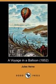 Cover of: A Voyage in a Balloon