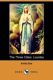 Cover of: The Three Cities | Г‰mile Zola